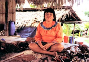 A Shipibo woman