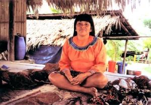A Shipibo woman